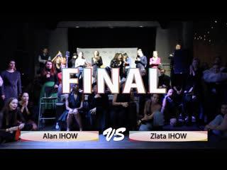Alan IHOW vs Zlata IHOW(win)   FINAL WAACKING OPEN   All Europe Waacking Festival