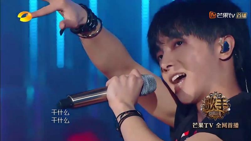 《歌手·当打之年》下饭篇 上 :过瘾!18年的华晨宇在舞台上发着光 Singer 2020