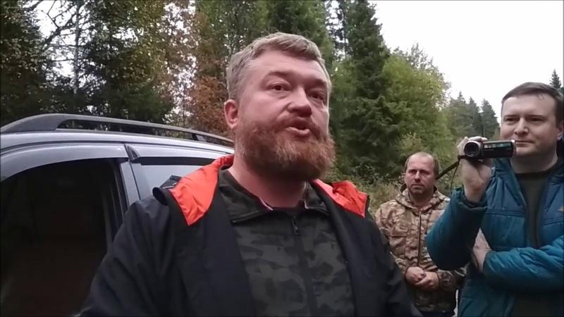 Рубят лес в Поварово. Экстренный выезд активистов