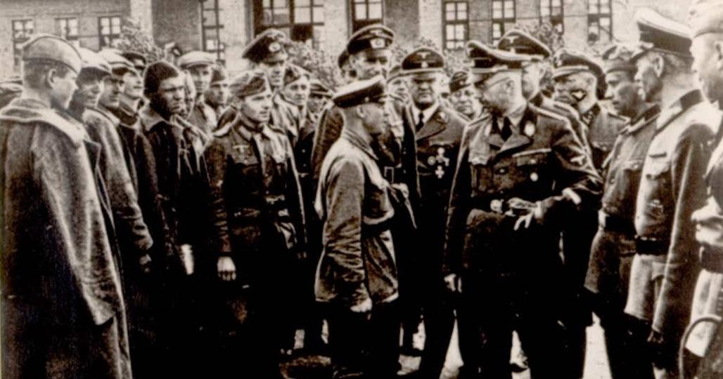 Гиммлер и пленные
