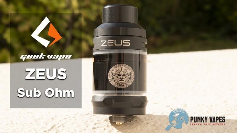 Geekvape Zeus Sub Ohm Mesh Tank - Une contenance survendue...