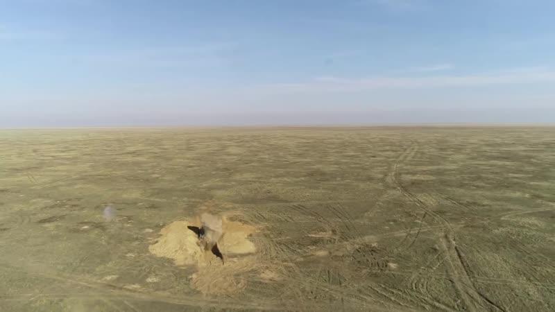 Пуск крылатой ракеты ОТРК Искандер-К в ходе учений Гром-2019