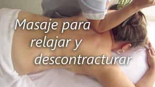 Masaje para aliviar el dolor lumbar y cuello | Massage to relieve back and neck pain