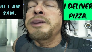 DEATH STRANDING (PS4) Walkthrough Gameplay Part 8 (Pizza Delivery)