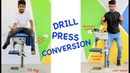 Drill Press Conversion to Brushless Motor
