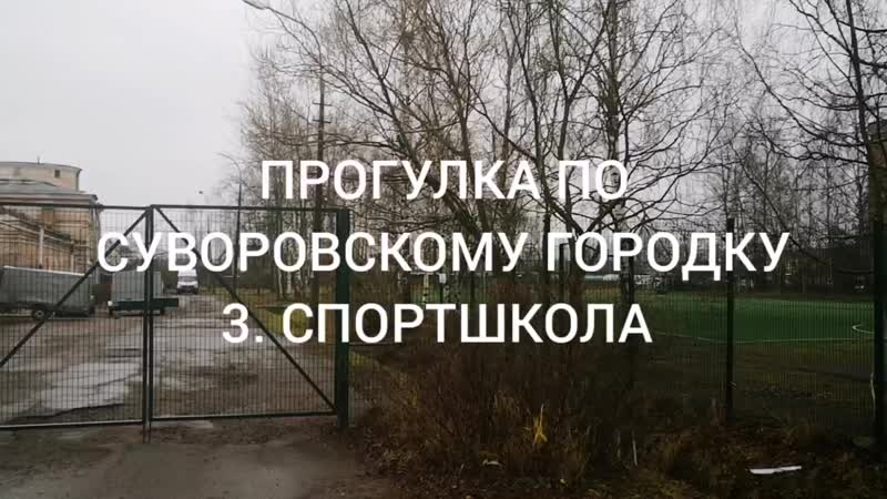 Спортплощадка Суворовский Городок 16.11.19