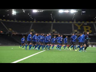 Treino @ stade de suisse