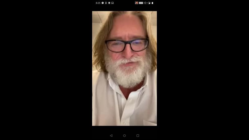Гейб Ньюэлл ответил на письмо фаната Dota 2 видеообращением