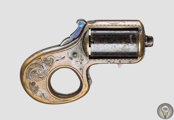 «Мой друг» револьвер-кастет 22 калибра, запатентованный в 1865 году, США факты из истории