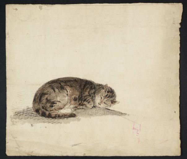 Самая дорогая кошачья дверца в мире Великий британский живописец Уильям Тернер (1775-1851) очень любил кошек. Писатель Питер Акройд в книге, посвященной художнику, рассказывал, как однажды