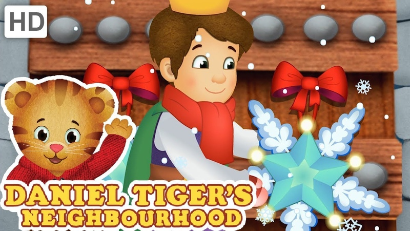 Daniel Tiger ❄🎁 Snowflakes Everywhere ❄ Happy Holidays!