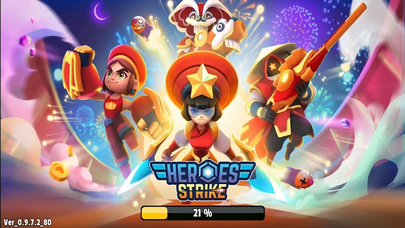 Heroes Strike - 3v3 Moba Brawl Shooting IOS-Android-Review-Gameplay-Walkthrough-Part 60