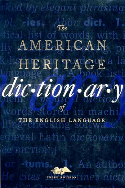 American Heritage Dictionary of the English Language pdf