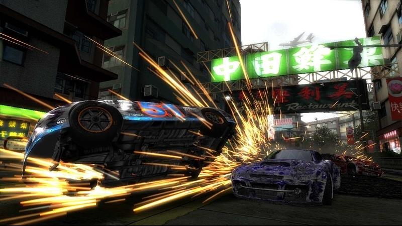 Burnout Revenge!! Signature Takedowns! Xbox 360! Gold medal racing! part 7!