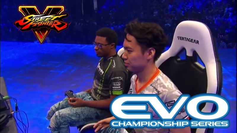 Street Fighter 5 Grand Final EVO 2017