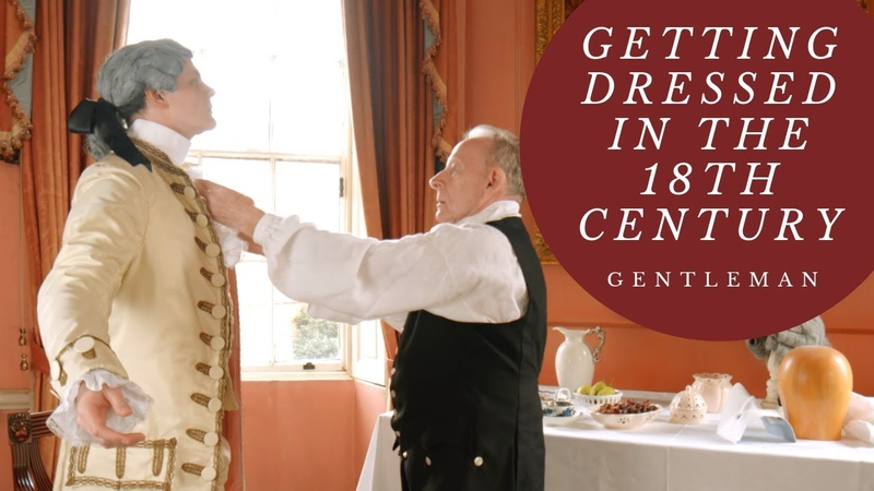 Getting Dressed in the 18th Century Men