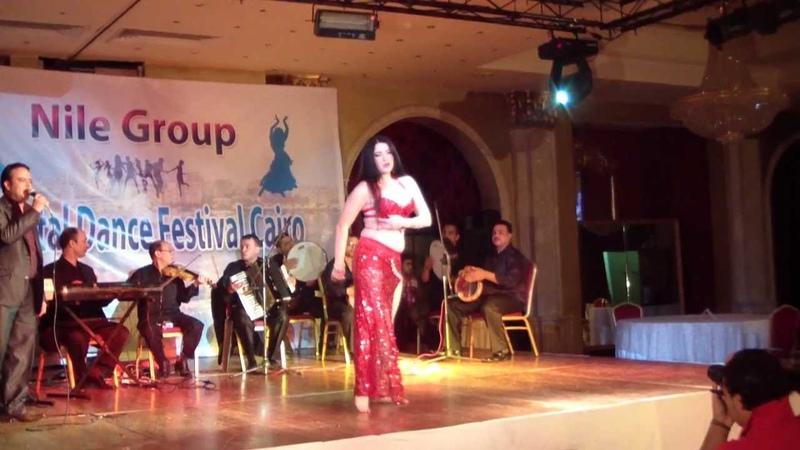 Assal bellydancer Ksenia Alby Ashika with band Cairo