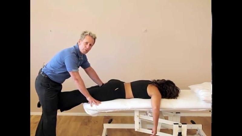 How to correct a Sacroiliac Joint Upslip Hip bone shear using a MET HVT technique