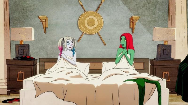 Харли и Плющ переспали на девичнике