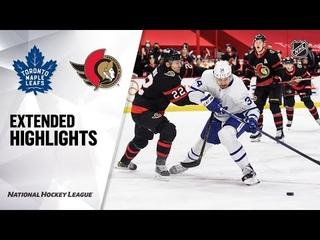 Торонто Мейпл Лифс - Оттава Сенаторз |  | Регулярный чемпионат | Обзор матча