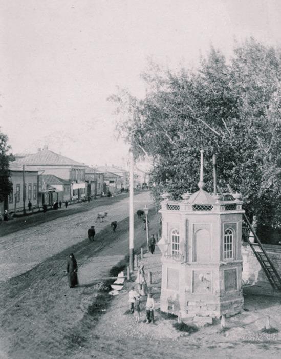Водоразборная колонка по ул. Московской