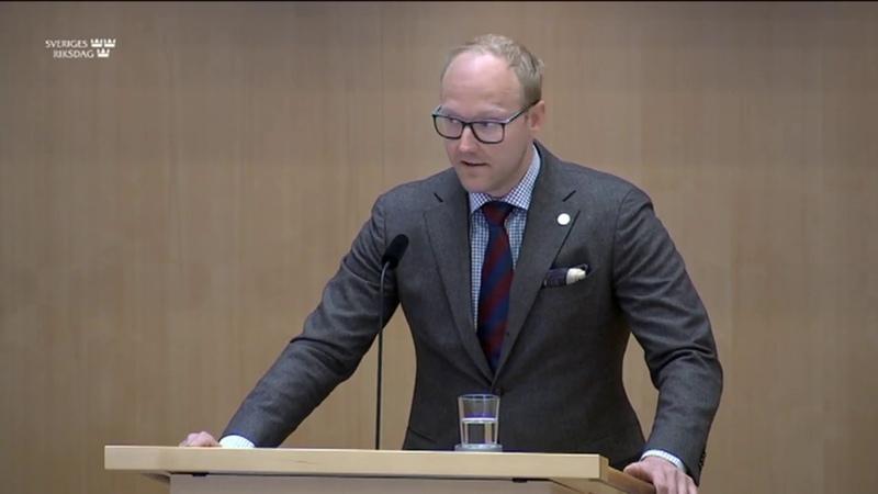 Ludvig Aspling biståndspengar ska inte gå till terrorister