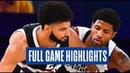 LA Clippers vs Denver Nuggets - Full Game Highlights | Game 4 | 2020 NBA Playoffs