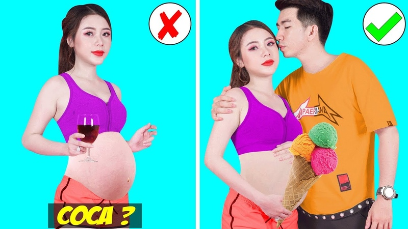 Girl DIY! 23 LIFE HACKS EVERY GIRL MUST KNOW FOR PERFECT BODY! Pregnancy Tips To Get A Healthy Baby