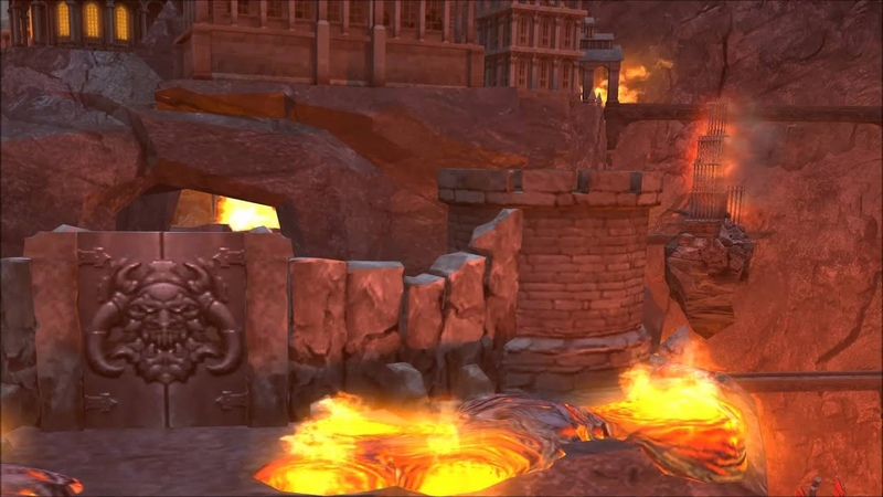 Heroes of Might Magic 5 Inferno Town Theme Animatic (2005, Ubisoft/Nival) 1080p Animation