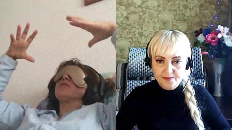 136Шизофрения Геннадий Крохалёв Группы крови Резус отрицательный регрессивный гипноз Валентины К