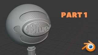 Blender Hard Surface Modeling Tutorial - Part 1
