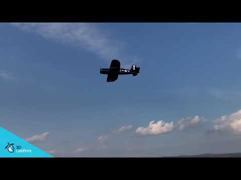 F4U Corsair flight
