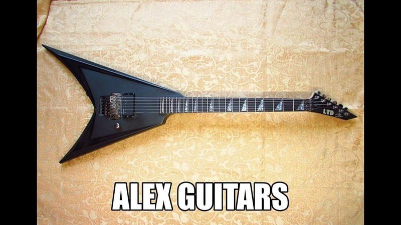 ESP LTD ALEXI 600 Blacky Alexi Laiho Обзор работоспособности Alex Guitars