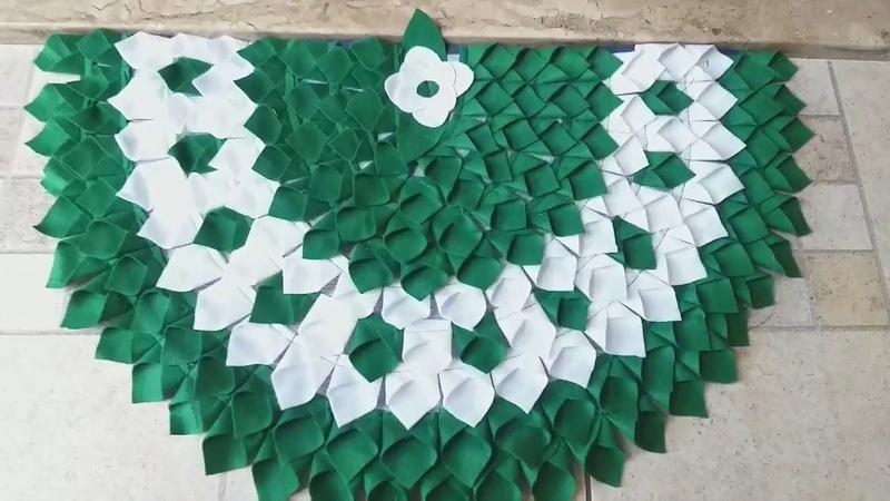 Tapete de Porta -FEITO COM FELTRO- Biquinho -door mat -дверной коврик - alfombra de puerta