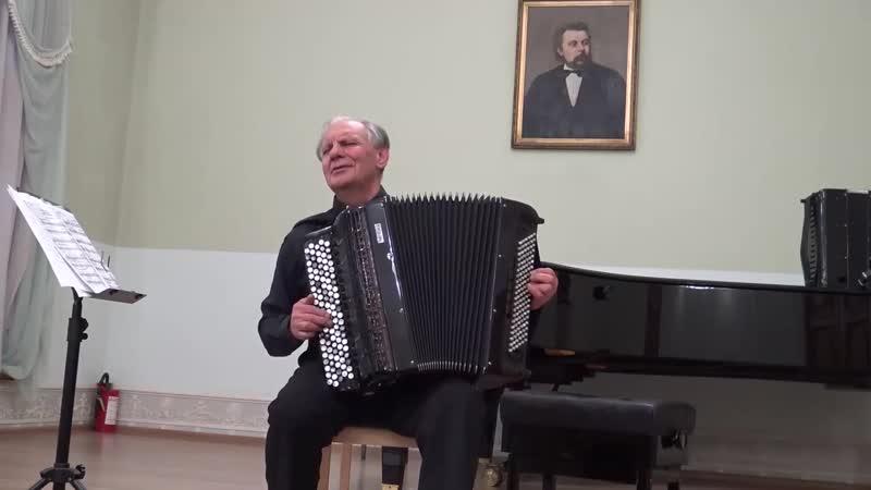 В. Семёнов играет А. Кусякова из Зимних зарисовок Узоры на стекле и Северный ветер