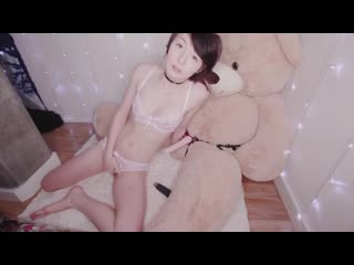 PornHut (Мастурбирует, solo, скачет, брюнетка, teen, с игрушкой, милашка, dildo, красавица, дрочит)