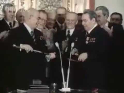 Златоустовская шашка для Леонида Ильича Брежнева