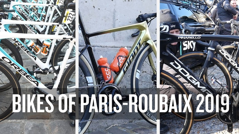 Bikes of Paris Roubaix 2019