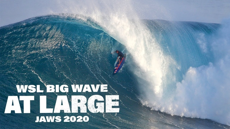 WSL Big Wave At Large JAWS 2020 MASSIVE BARRELS INSANE WIPEOUTS