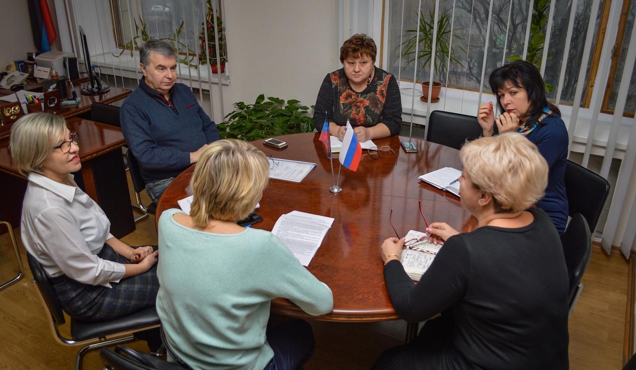 В администрации г. Донецка прошло ежемесячное заседание Оперативного штаба по ликвидации неблагоприятной ситуации по кори