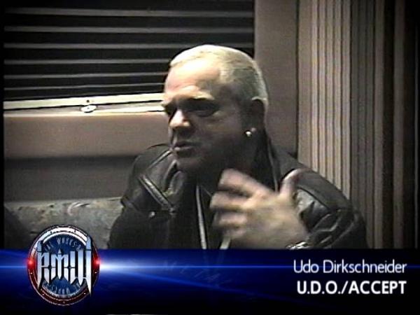 UDO DIRKSCHNEIDER on Robbs MetalWorks 2000