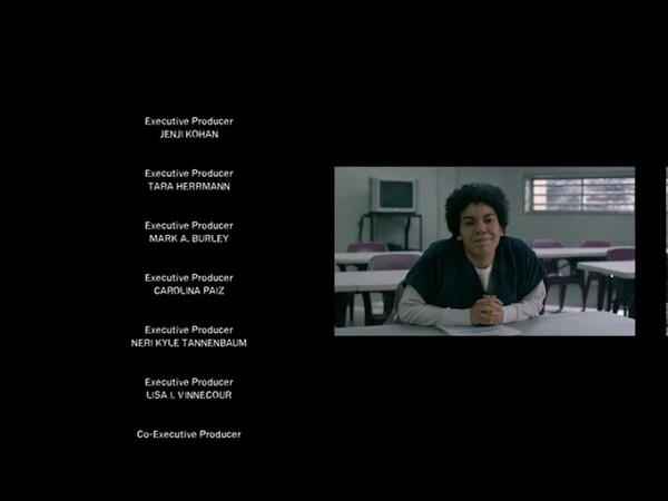 OITNB Season 7 - Closing credits of episode 13 (with french subtitles)