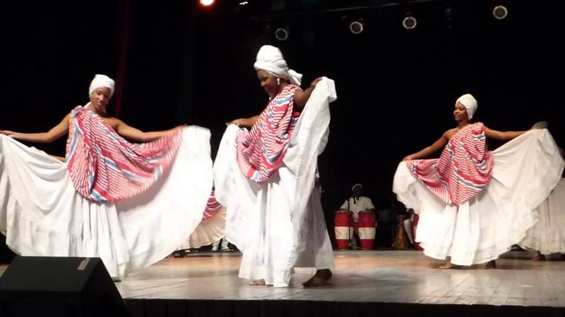 Congo Lae par le ballet Folklorique de Oriente Santiago de Cuba 2017