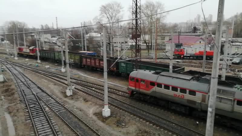 2М62 0831 ОКТ ЖД ТЧЭ 30 Суоярви Петрозаводск Товарная станция
