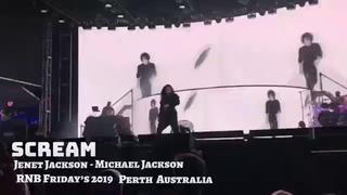 Janet Jackson performs SCREAM In Perth Australia 🇦🇺 (RNB FRIDAY'S 2019)