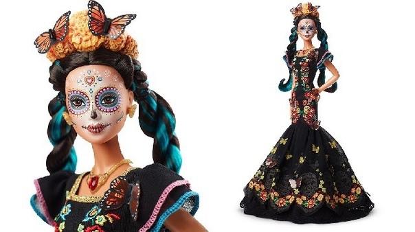 Новинка от производителей кукл Барби ко Дню мёртвых День мёртвых (исп. Día de los Muertos) праздник, посвящённый памяти умерших, проходящий ежегодно 1 и 2 ноября в Мексике, Испании, Гватемале,