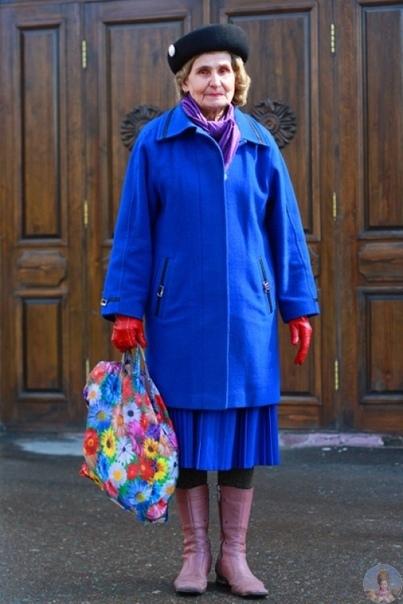 Игорь Гавар фотографирует русских пенсионеров, которые на удивление продолжают стильно выглядеть и радоваться жизни