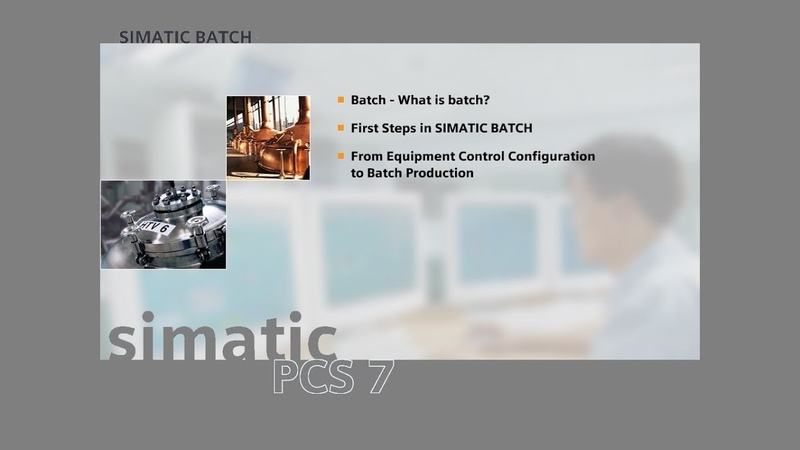 19 - SIMATIC BATCH - Add the Phase to the Recipe and Start Batch