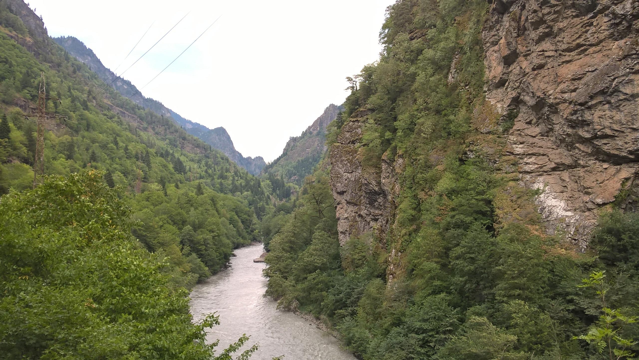 Климат в западной Грузии