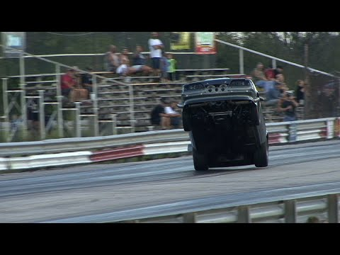 A few WILD RIDES from 2019 UHV Drag Racing